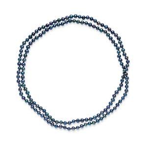 Niebieski naszyjnik perłowy Nova Pearls Copenhagen Emilie