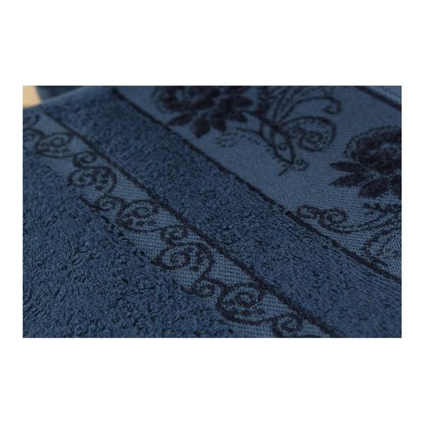 Zestaw 3 ręczników Selen Dark Blue, 50x90 cm
