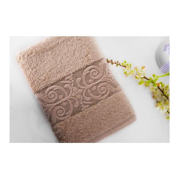 Zestaw 2 ręczników Bamboo Glory Salmon, 50x90 cm i 70x140 cm