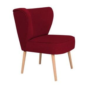 Czerwony fotel BSL Concept Pearson