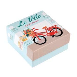 Zestaw 8 jednorazowych podkładek Rex London Le Vélo
