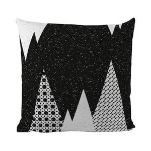 Poduszka Black Shake Snow Mountains, 50x50 cm