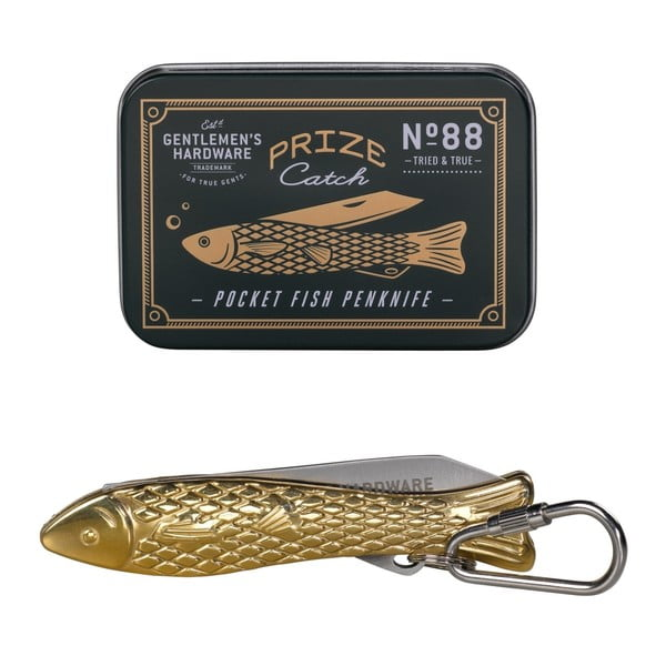 Nożyk w kształcie złotej rybki Gentlemen's Hardware