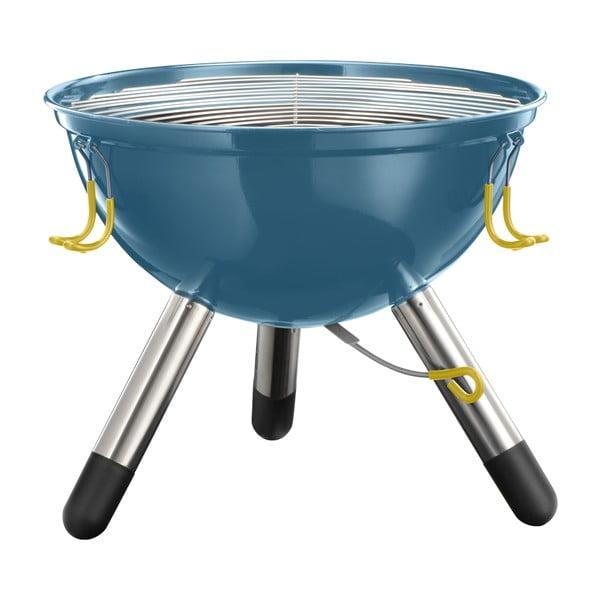 Ciemnoniebieski grill przenośny Jamie Oliver, mały