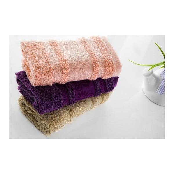 Zestaw 3 ręczników Carmen V2, 30x50 cm