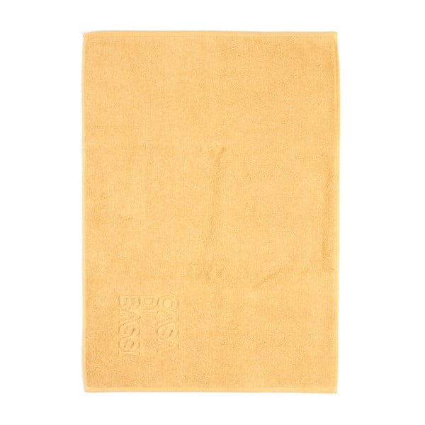 Żółty dywanik łazienkowy z bawełny Casa Di Bassi Sun, 50x70 cm