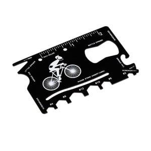 Karta przeżycia na rower w skórzanym etui Rex London Le Bicycle