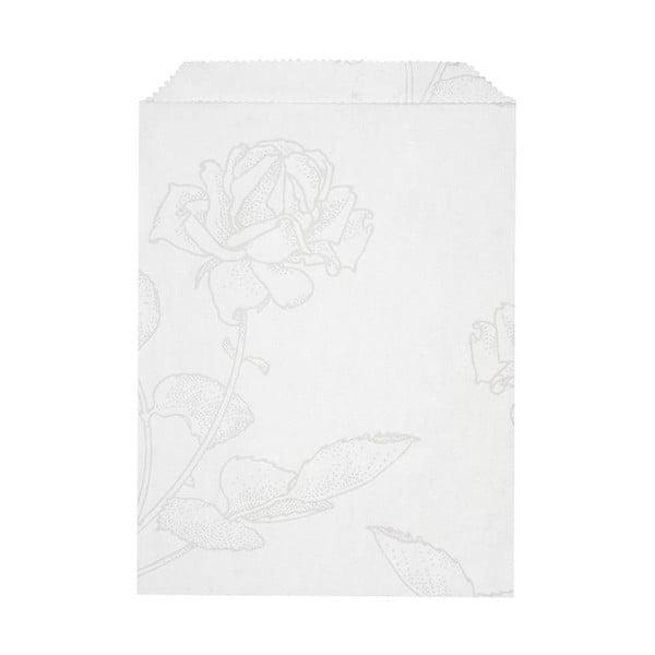 Komplet 10 papierowych kopert Glassine Floral