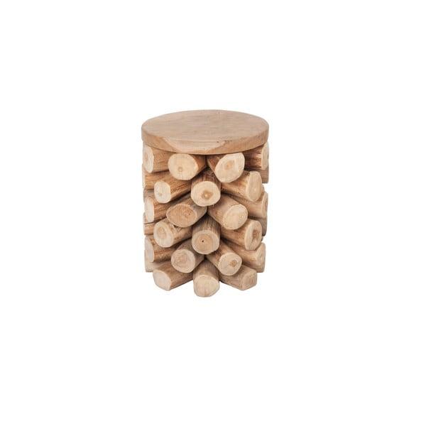 Stolik z tekowego drewna Ove