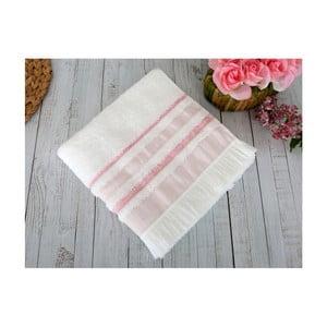 Różowy ręcznik Irya Home Spa, 50x90 cm