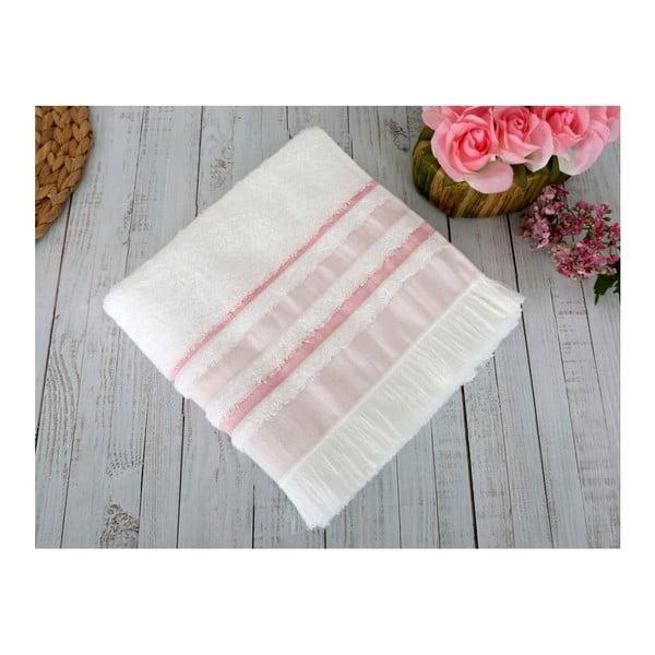 Różowy ręcznik Irya Home Spa, 70x130 cm
