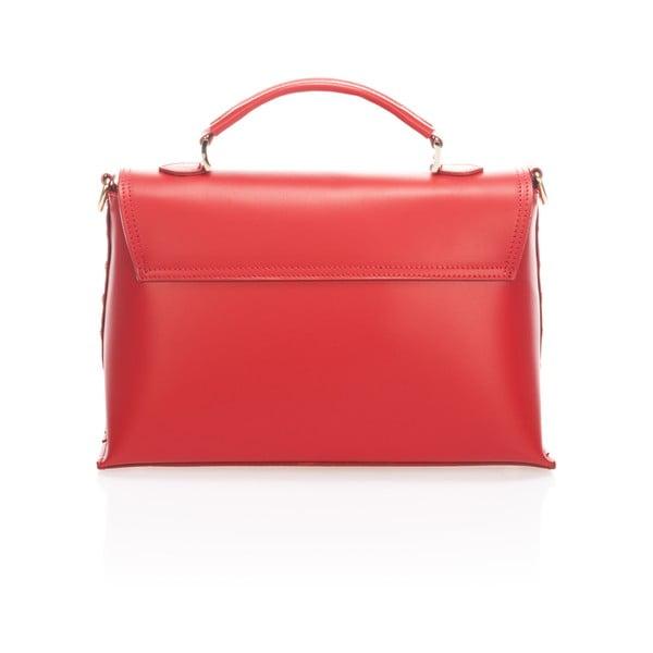 Skórzana torebka Harika, czerwona