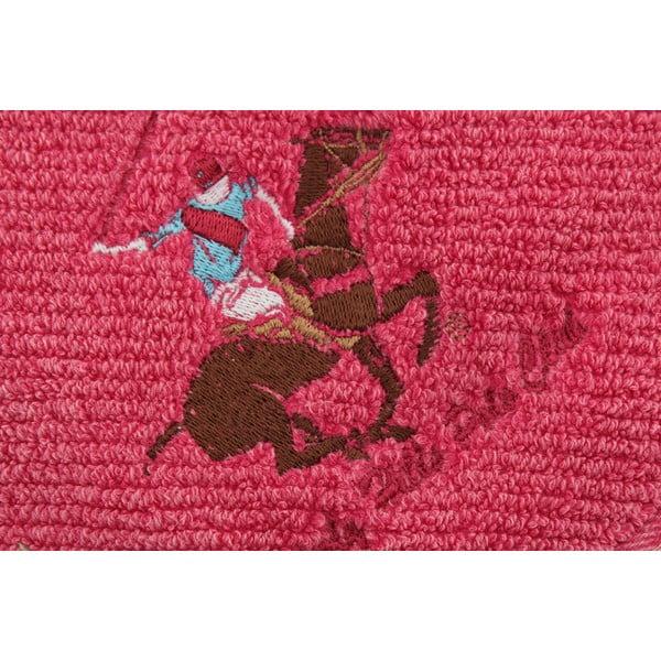 Ręcznik bawełniany BHPC s výšivkou 50x100 cm, różowy