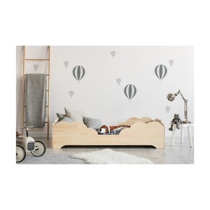 Łóżko dziecięce z drewna sosnowego Adeko BOX 10, 80x170 cm