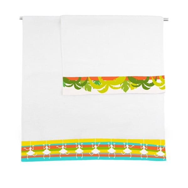 Zestaw 2 ręczników Baleno Zoo, 50x100 i 70x140 cm