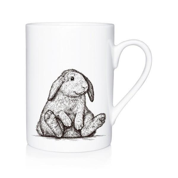 Porcelanowy kubek Bunny, 300 ml