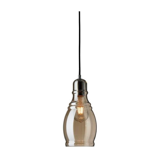 Lampa wisząca Searchlight Olsson, brązowa
