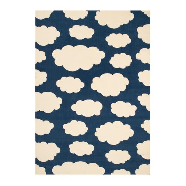 Granatowy dywan dziecięcy Zala Living Cloud, 140x200 cm