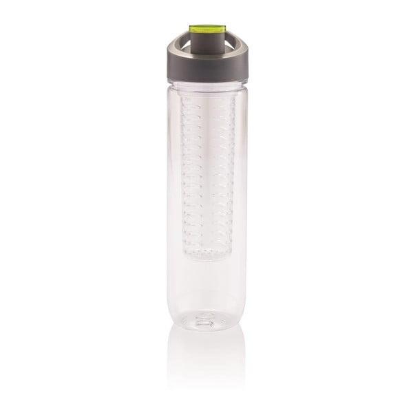Zielona butelka z sitkiem na owoce XD Design Loooqs