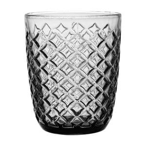 Szara   szklanka Côté Table Arlequin, 250ml