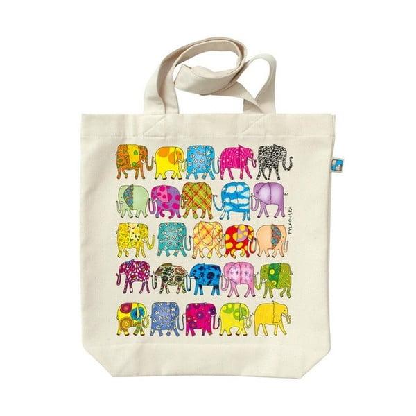 Torba płócienna Słonie