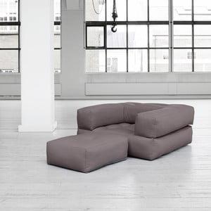Fotel rozkładany Cube Gris