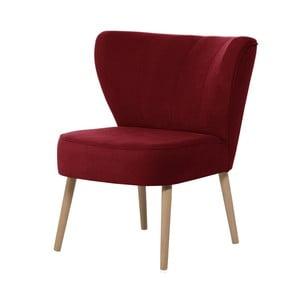 Czerwony fotel My Pop Design Hamilton