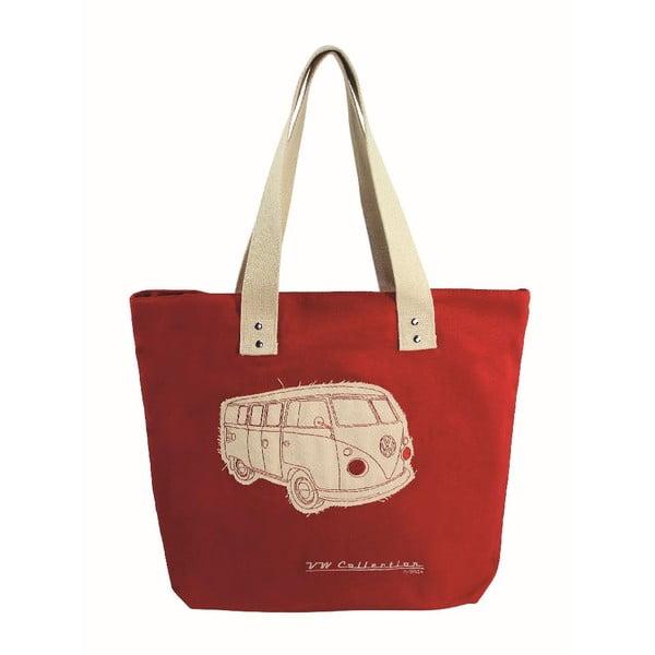 Torba Shopper Bus, czerwona