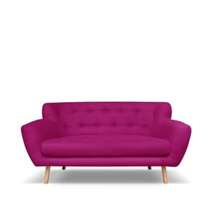 Fuksjowa sofa 2-osobowa Cosmopolitan design London