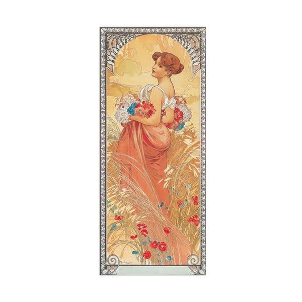 Obraz Alfons Mucha - Ete 1900, 19x43 cm