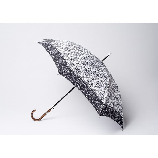 Parasol Damask, czarny