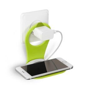 Zielony stojak na telefon Bobino Phone