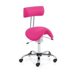 Krzesło biurowe Ergo Flex, różowe