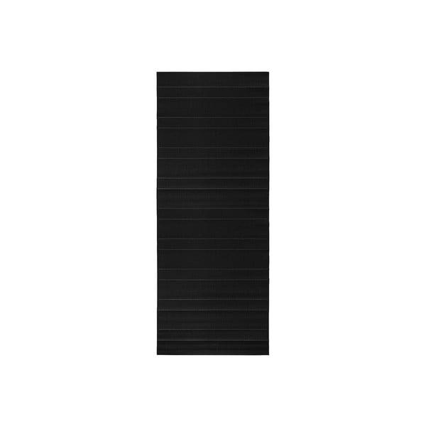 Dywan nadający się na zewnątrz Sunshine 80x300 cm, czarny