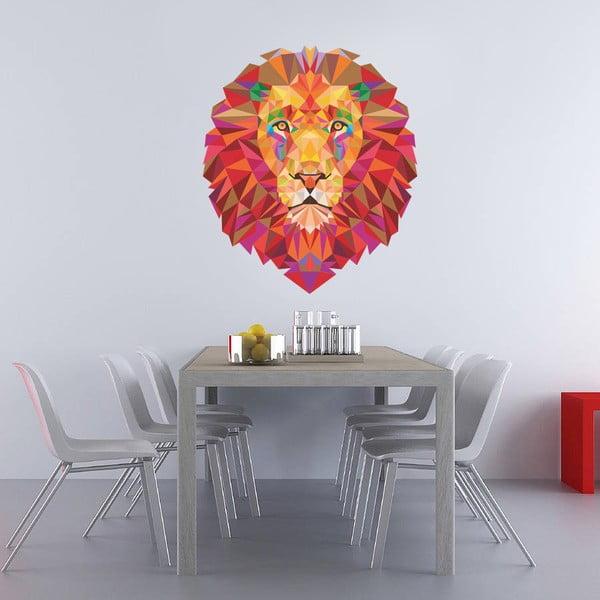 Naklejka na ścianę Lew, 60x90 cm