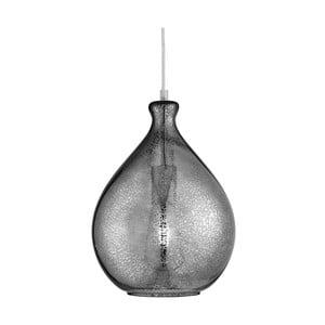 Lampa wisząca Searchlight Mercury, szara (przydymiona)