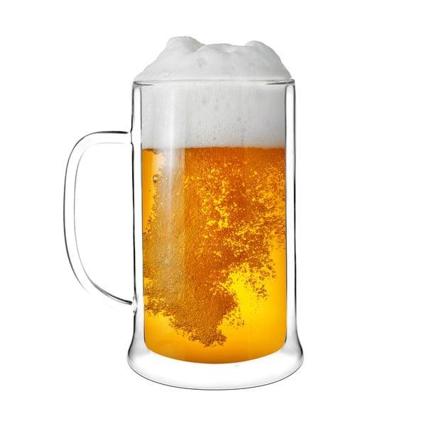 Szklanka do piwa z podwójną ścianką Amo Vialli Design, 500 ml