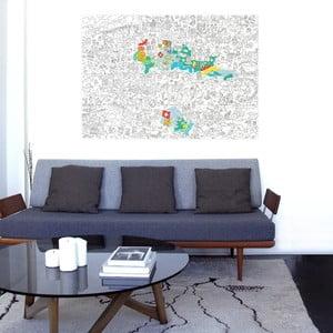 Kolorowanka Switzerland (70 x 100 cm)