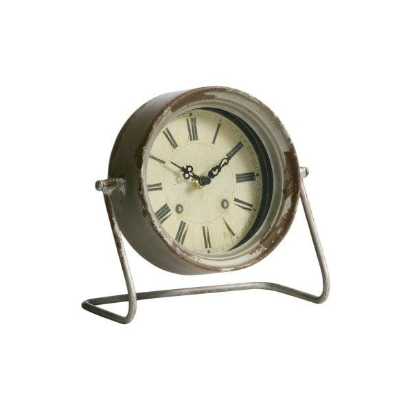 Metalowy budzik Rustical, 19x21x10 cm