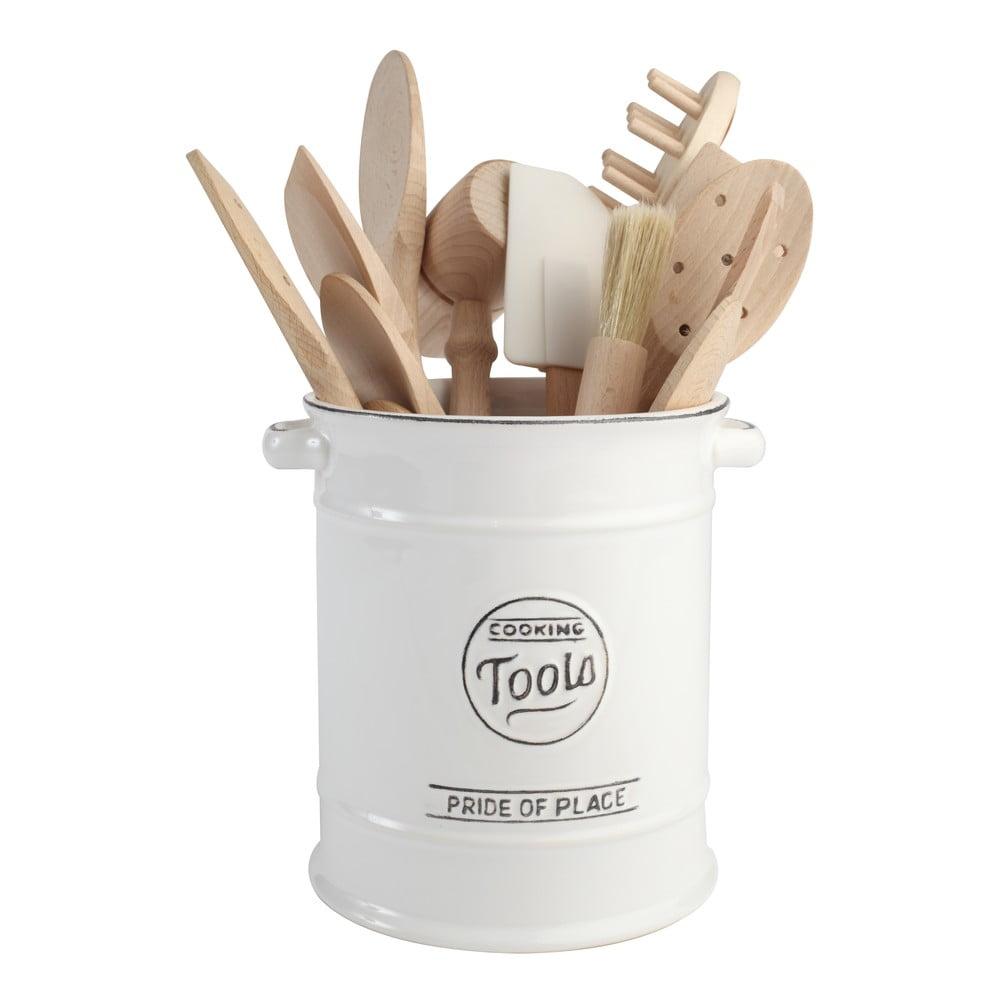 Bia y pojemnik ceramiczny na przybory kuchenne t g for Botes de cocina ikea