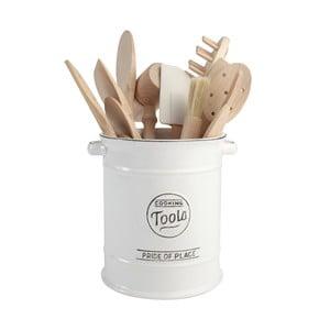 Bílá keramická dóza na kuchyňské náčiní T&G Woodware Pride of Place