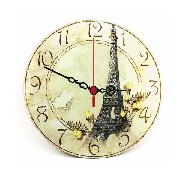 Zegar ścienny Eiffel Tower, 30 cm