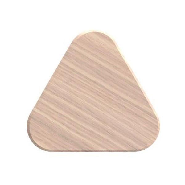 Hak z drewna dębowego na płaszcze HARTÔ Leonie, Ø 8 cm