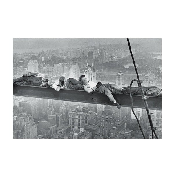 Foto-obraz Sleeping Men , 81x51 cm