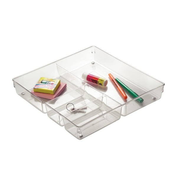 Organizer na biurko iDesign Linus, 30x30 cm
