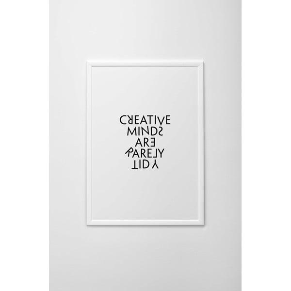 Plakat autorski Creative Minds, A4