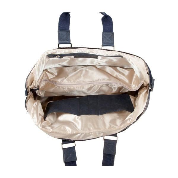 Męska torba podróżna Vintage Overnight Ocean Blue