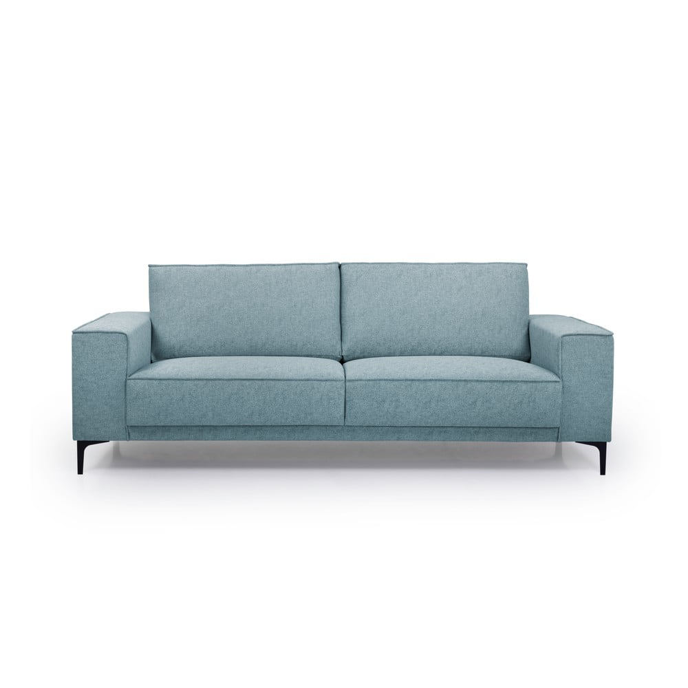 Szafirowa sofa Scandic Copenhagen, 224 cm