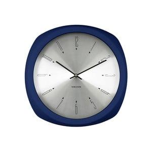Niebieski zegar Present Time Aesthetic Square