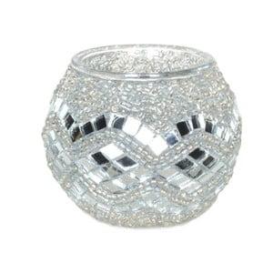 Świecznik szklany Oriental IV